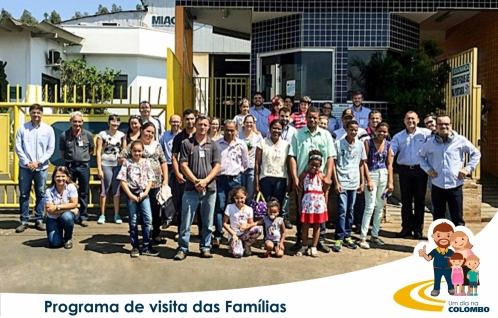 Visita das famílias - 27/10/2017