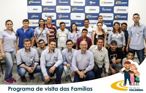 Visita das famílias - 24/11/2017