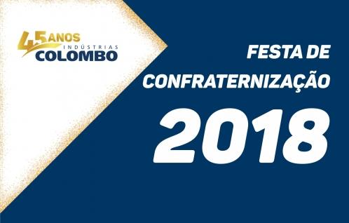 Festa de Confraternização 2018